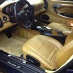 Porsche Boxster after interior detailing